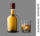 transparent realistic vector... | Shutterstock .eps vector #365018225