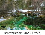 Green Clear Mountain River ...
