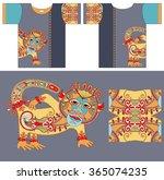 original t shirt design with...   Shutterstock . vector #365074235