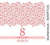 vector illustrations of card 8... | Shutterstock .eps vector #365097131