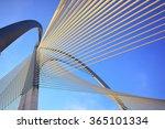 modern bridge architecture at... | Shutterstock . vector #365101334