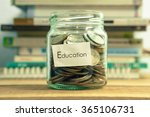 money saving for education in... | Shutterstock . vector #365106731