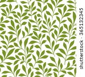 spring leaves seamless pattern...
