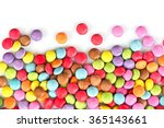 Colorful Candies  Isolated On...