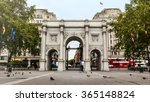 Marble Arch Monument In London...