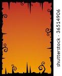 halloween vector illustration... | Shutterstock .eps vector #36514906