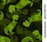 Постер, плакат: Dinosaur 3d background Tyrannosaurus