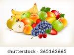 Fresh Juicy Fruit And Berries...