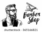 Hipster Shave Haircut In The...
