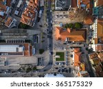 Top View Cascais Streets Portugal - Fine Art prints