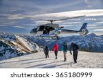 the helicopter hovered over the ... | Shutterstock . vector #365180999