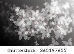Blurry Dark Butterfly Bokeh...