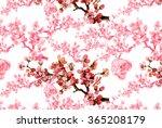 spring branch pattern 3 | Shutterstock . vector #365208179