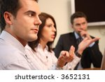 group of business people... | Shutterstock . vector #3652131