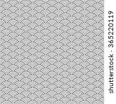 black and white japanese... | Shutterstock .eps vector #365220119