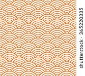 japanese pattern  vector... | Shutterstock .eps vector #365220335