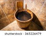 Wooden Bucket For The Sauna....