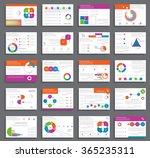 brochure design and... | Shutterstock .eps vector #365235311