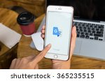 chiangmai thailand   jan 19 ... | Shutterstock . vector #365235515