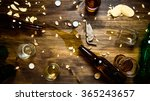beer party. in the process of... | Shutterstock . vector #365243657