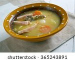 Small photo of Traditional Dutch Pea Soup - Snert