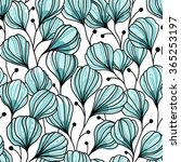 vector seamless pattern with... | Shutterstock .eps vector #365253197