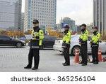 seoul  south korea november 11  ...   Shutterstock . vector #365256104