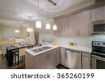 modern  bright  clean  kitchen... | Shutterstock . vector #365260199
