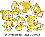 very adorable yellow cartoon...
