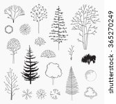 set of vector abstract trees