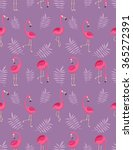 background .pattern with pink... | Shutterstock .eps vector #365272391