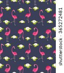 background .pattern with pink... | Shutterstock .eps vector #365272481