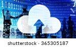 cloud network connection... | Shutterstock . vector #365305187