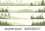 set vector horizontal banners... | Shutterstock .eps vector #365320217
