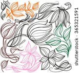vector  set of images with... | Shutterstock .eps vector #365321591
