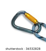 isolated new climbing equipment ... | Shutterstock . vector #36532828