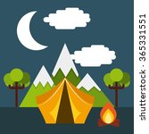 travel vacations design  | Shutterstock .eps vector #365331551