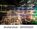 abstract light trails | Shutterstock . vector #365333264