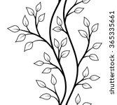 vector illustration  seamless... | Shutterstock .eps vector #365335661