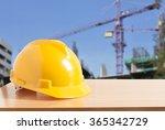 safety helmet with construction ... | Shutterstock . vector #365342729