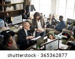 business marketing team... | Shutterstock . vector #365362877