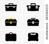 tool boxes | Shutterstock .eps vector #365364215