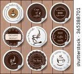 stock vector set of label for... | Shutterstock .eps vector #365388701
