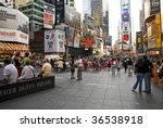 Times Square  Nyc   September 2 ...