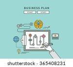 simple color line flat design...   Shutterstock .eps vector #365408231