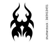 tribal tattoo vector design... | Shutterstock .eps vector #365413451