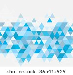 abstract geometrical background ... | Shutterstock . vector #365415929