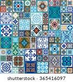 mega set of ceramic tiles with...