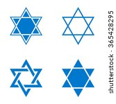 Vector Star Of Israel Icon