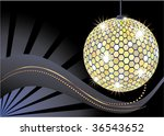 disco ball. | Shutterstock .eps vector #36543652